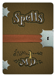 Spell card for math game Mathemagician's Duel