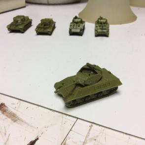 Tanks assembled