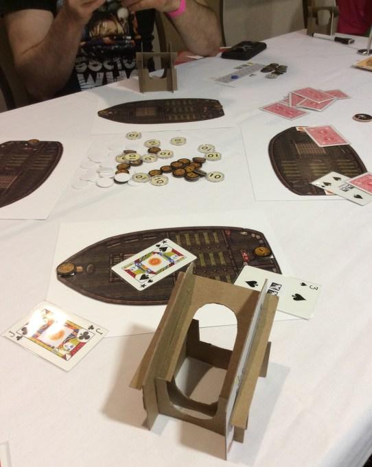 Pirate Queen game underway!