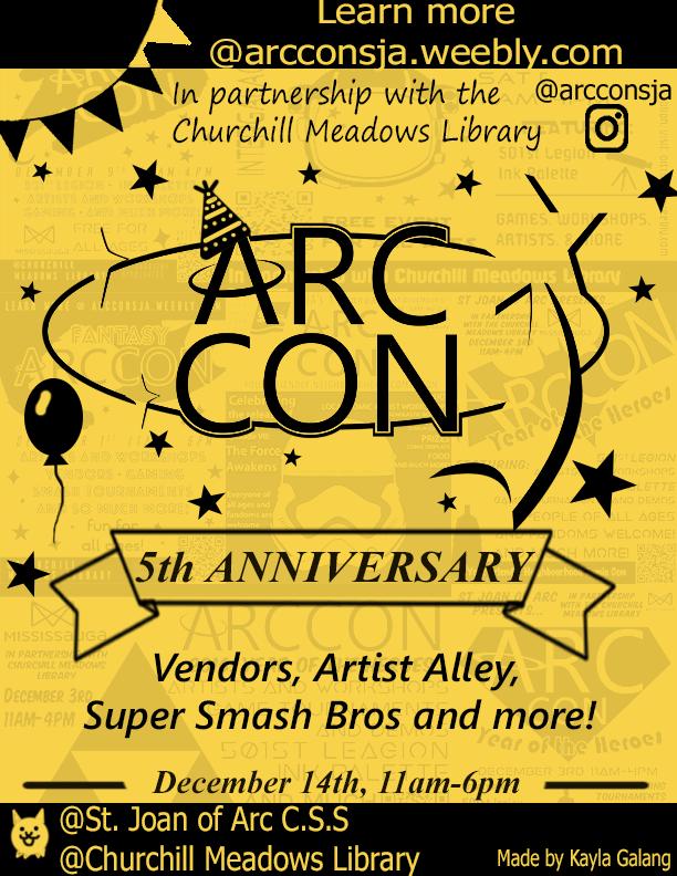 Arc Con 5 Poster