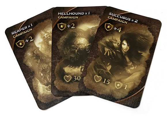 Draconis campaign cards
