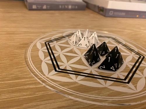 2-player acrylic board