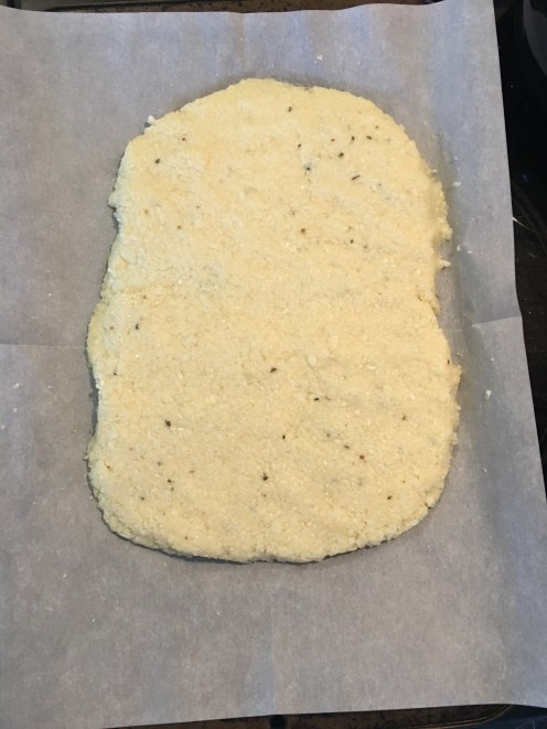 The crust before baking.