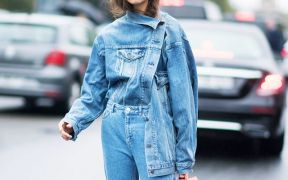 how to wear double denim 1
