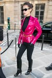 bella hadid brings 80s glam to paris fashion week 1