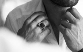 were as surprised as you are but the signet ring is cool again 1