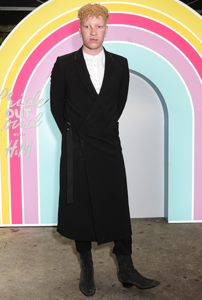 The Best-Dressed Men Of The Week - Shaun Ross at H&M pride collection launch, NYC