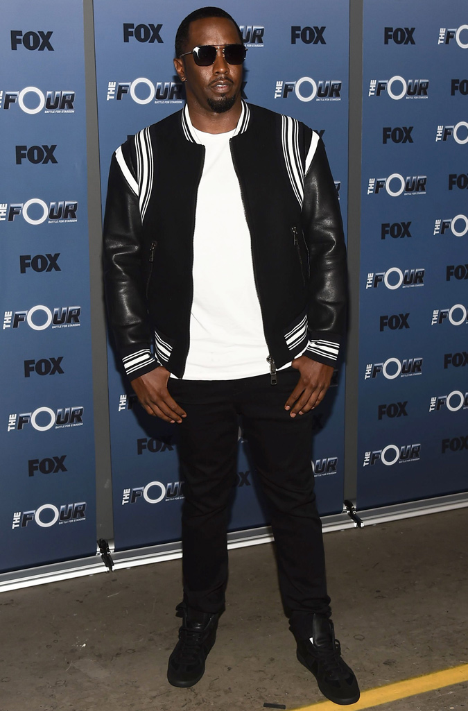 The Best-Dressed Men Of The Week - Sean Combs at The Four Battle for Stardom TV show event, Los Angeles