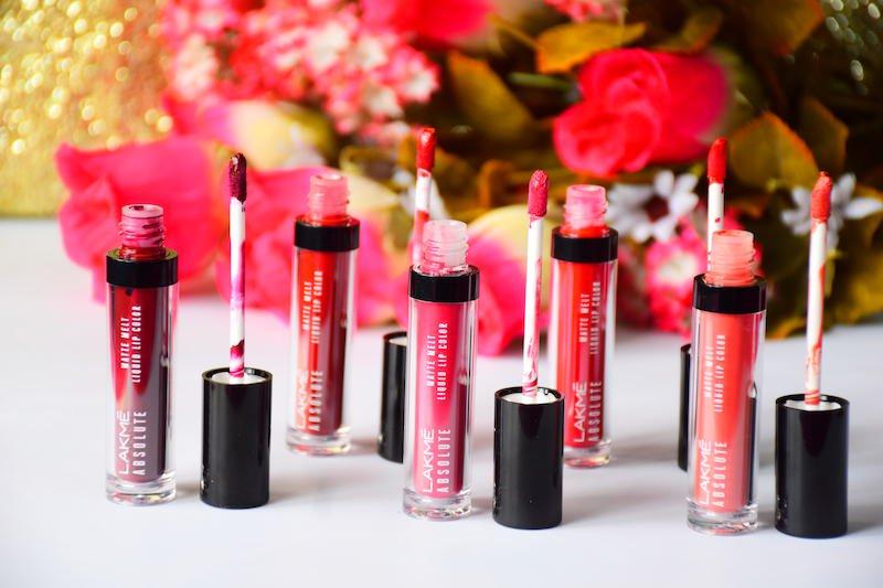 Lakme Absolute Matte Melt Liquid Lip Colors