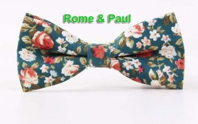 the wolfgang floral bow tie n6 by rome paul bowtie fashion accessory necktie 1