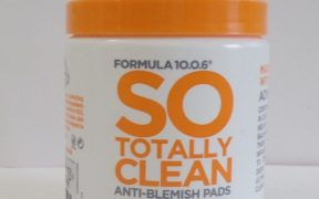 Formula So Totally Clean Anti Blemish Pads Review