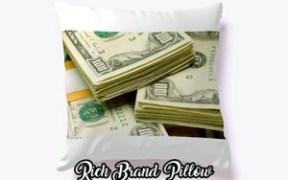 rich brand pillow
