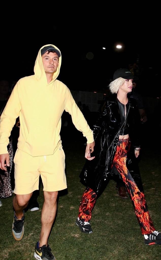 Orlando Bloom, Katy Perry, Coachella 2019