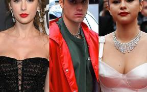 rs x Taylor Swift Justin Bieber Selena Gomez LT GettyImages GettyImages GettyImages