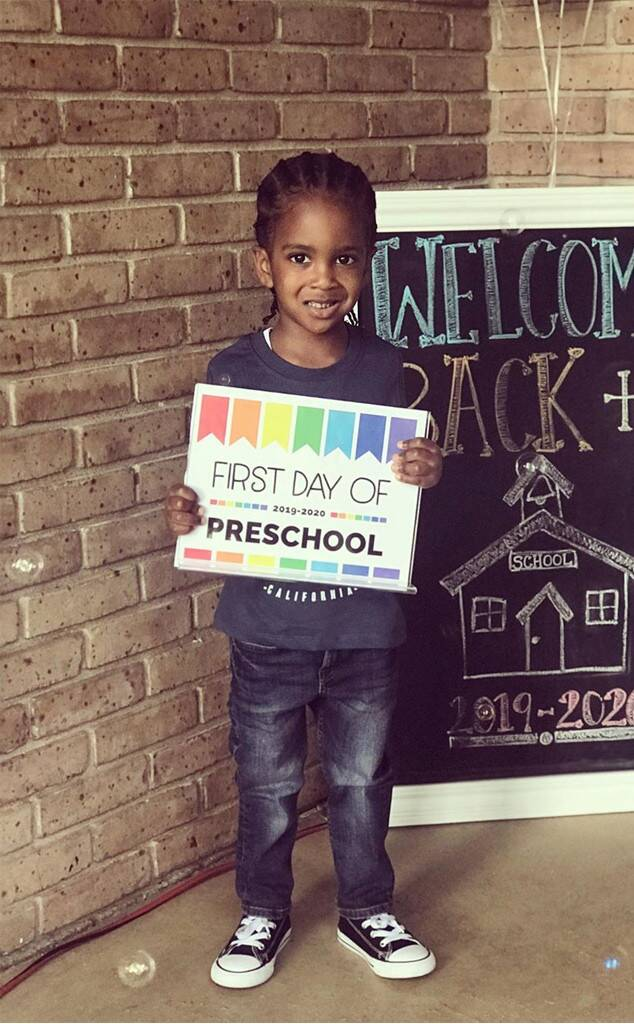 Kandi Burruss, Kids, Back to School