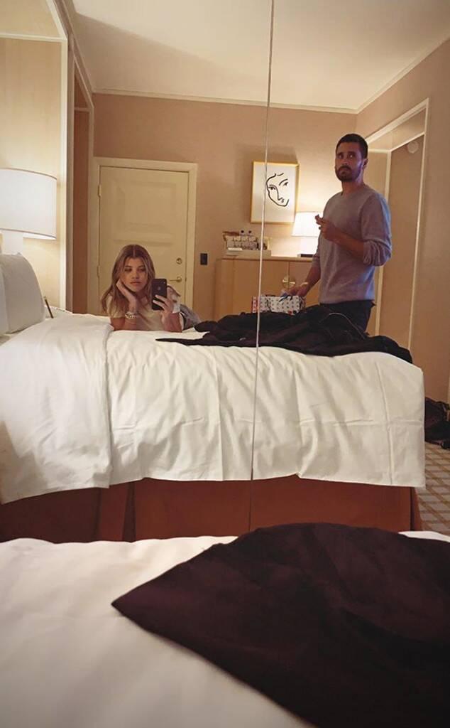 Scott Disick, Sofia Richie, Las Vegas, Hotel Room