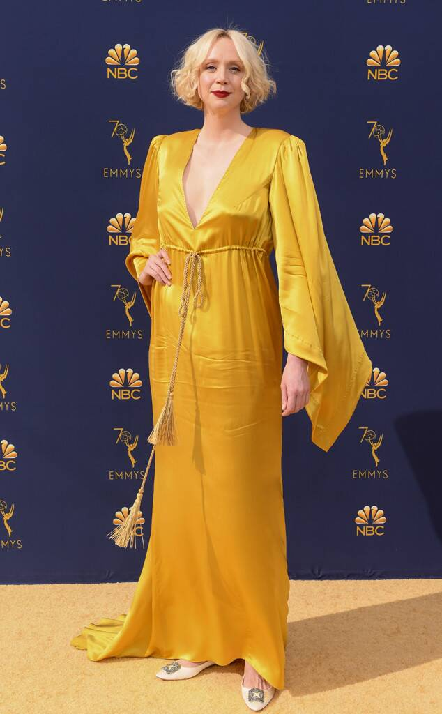 Gwendoline Christie, 2018 Emmys, 2018 Emmy Awards, Red Carpet Fashions
