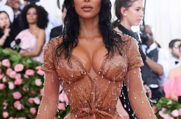 rs x . met gala red carpet fashions kim kardashian west