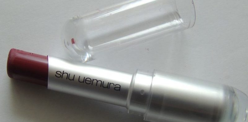 Shu Uemura Rouge Unlimited Matte Lipstick MRD Review