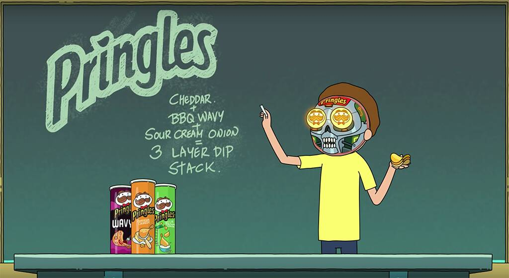 Rick and Morty, Pringles, Super Bowl 2020, Ad