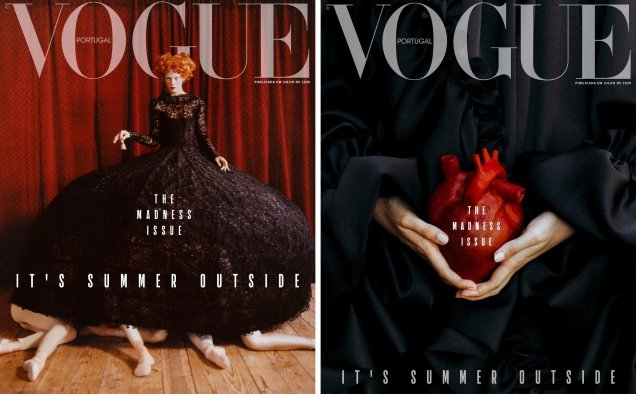 Vogue Portugal July/August 2020 : The Madness Issue