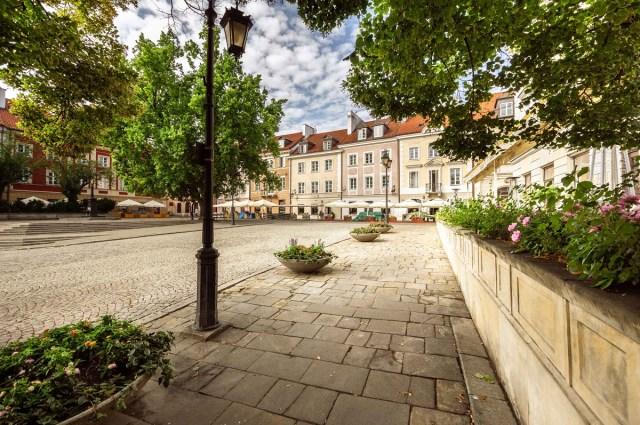 Nowe Miasto w Warszawie słynie z restuarcji oraz barów