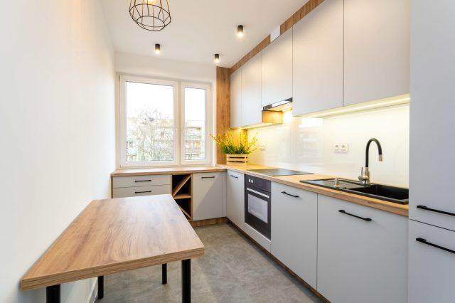Sesja zdjęciowa kuchni w mieszkaniu w Wołominie