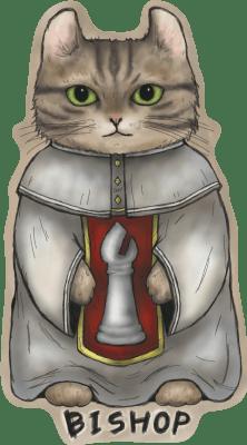 4710-サリービショップ猫白