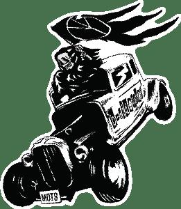 4679-モト死神と車