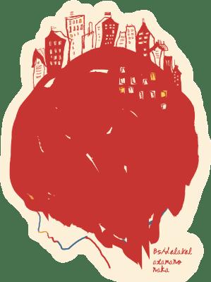 タケイ頭の中赤