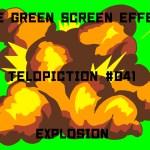 """【No.041】""""explosion"""" 爆発/フリー素材/グリーンスクリーン/Free Green Screen Effects"""