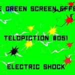 "【No.051】""Electric shock"" 衝撃/フリー素材/グリーンスクリーン/Free Green Screen Effects"