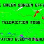 "【No.059】""Rotating electric shock"" 回る電撃/フリー素材/グリーンスクリーン/Free Green Screen Effects"