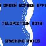 "【No.078】""Crashing waves"" 打ち寄せる波/フリー素材/グリーンスクリーン/Free Green Screen Effects"