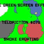 "【No.079】""Smoke_erupting"" 吹き出る煙/フリー素材/グリーンスクリーン/Free Green Screen Effects"