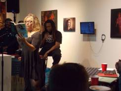 Shawna Kenney reading her own work