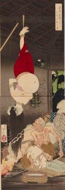"La casa solitaria sulla Brughiera di Adachi"" di Tsukioka Yoshitoshi"
