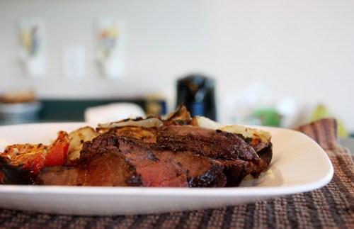 Barbecued Elk Roast   bsinthekitchen.com