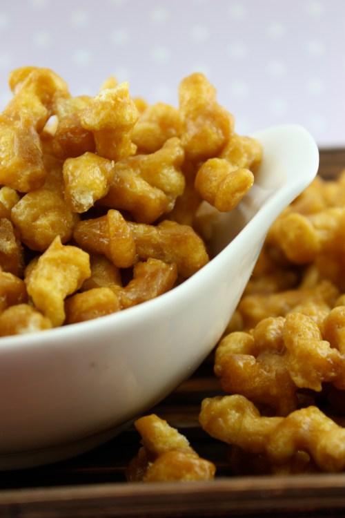Bs Recipes Candy Corn M M Blondies: Caramel Popcorn Twists
