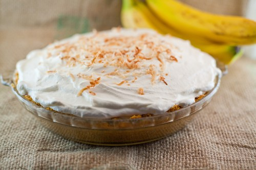 Old Fashioned Banana Cream Pie | #bsinthekitchen #bananacreampie