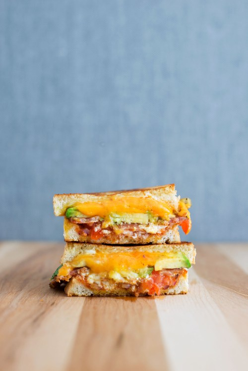 """The Masochist"" Grilled Cheese 