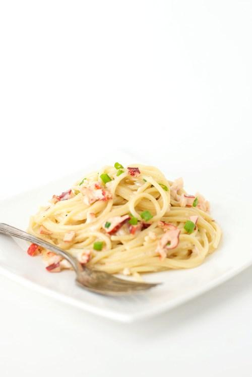 Lobster Alfredo   bsinthekitchen.com #dinner #pasta #bsinthekitchen