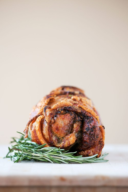 Porchetta Pork Shoulder | bsinthekitchen.com #porchetta #pork #bsinthekitchen