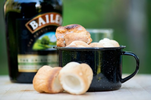 Roasted Marshmallows & Baileys   bsinthekitchen.com #camping #baileys #bsinthekitchen