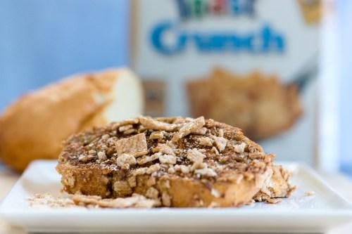 Cinnamon Toast Crunch French Toast | bsinthekitchen.com #breakfast #cereal #bsinthekitchen