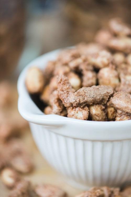 Candied Nuts | bsinthekitchen.com #appetizer #snack #bsinthekitchen