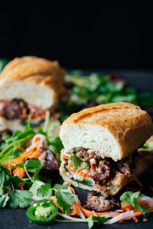 Banh Mi Sandwich | bsinthekitchen.com #sandwich #vietnamese #bsinthekitchen