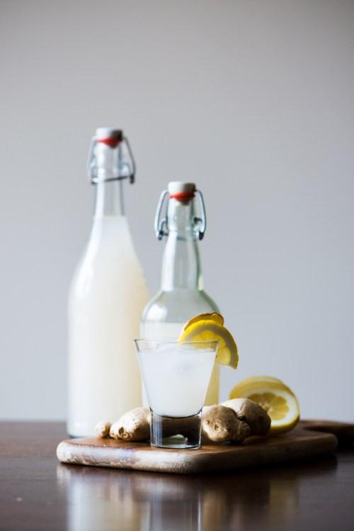 Homemade Ginger Beer | bsinthekitchen.com #gingerbeer #ginger #bsinthekitchen