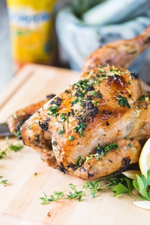 Beer Can Chicken | bsinthekitchen.com #chicken #barbecue #bsinthekitchen