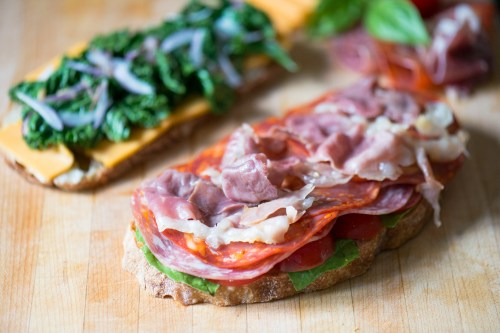 The Spanish Deli Sandwich | bsinthekitchen.com #sandwich #lunch #bsinthekitchen